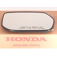 Fits 07-12 Acura RDX Right Pass Heated Mirror Glass w/ rear back plate  OE