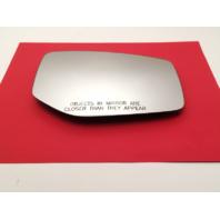 Fits 15-17 Acura TLX Right Pass Convex Mirror Glass w/ Rear Holder w/ Auto Dim OEM