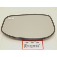 Fits 10-14 Insight EX Left Driver Mirror Glass w/ Rear Backing Plate Heated OE