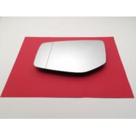 Fits 15-17 Acura TLX Left Driver Mirror Glass w/ Rear Holder non Auto Dim OEM