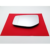 Fits 15-17 Acura TLX Left Driver Mirror Glass w/ Rear Holder w/ Auto Dim OEM