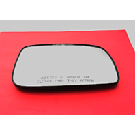 Fits 07-11 Toy Camry USA Built Right Passenger Side Mirror Glass w/ Holder