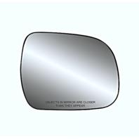 Fits 05-15 Toyota Tacoma, 10-13 Highlander Right Passenger Mirror Glass w/Holder