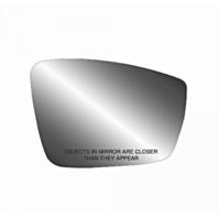 Fits 11-18 VW Jetta 13-17 Passat 12-18 Beetle Right Pass Mirror Glass w/ Holder 3 Opt