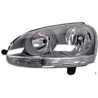 Fits 05-10 VW Jetta Sedan / 09 Wagon; 06-09 GTI & Rabbit Left Driver Headlight