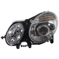 FITS 03-07 MERCEDES BENZ E-CLASS L&R SET HALOGEN HEADLAMP ASSEMBLIES TO 6/30/06