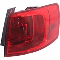 Fits 11-16 VW Jetta Sedan, 12-16 GLI Right Pass Tail Lamp Quarter Mounted