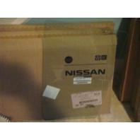 Fits 07-12 Nissan Versa Hatchback Left Rear Door Fixed Vent Glass