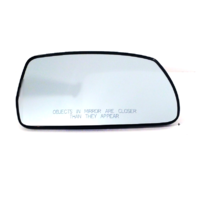 Fits 10-15 Tucson Right Pass Heated Convex Mirror Glass w/ Rear Holder OE
