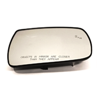 Fits 14-15 Sorento Right Pass Heated Mirror Glass w/Rear Back Plate w/Blind Spot