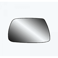 Fits 05-10 Grand Cherokee Left Driver Mirror Glass  w/Rear Back Plate