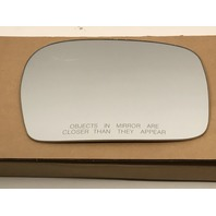Right Passenger Side Convex Mirror Glass Lens w/ Adhesive for 00-02 Toyota 4Runner
