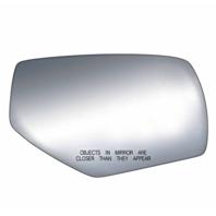 Fits 14-18 1500 Silverado, Sierra 15-18 2500, 3500 Right Pass Mirror Glass Lens