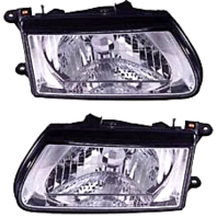 Fits 00-02 Honda Passport; 00-02 Isuzu Rodeo Left & Right Headlamp Assemblies