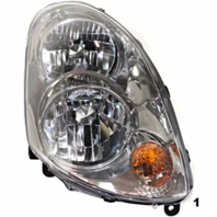 FITS 03-04 INFINITI G35 SEDAN LEFT & RIGHT SET HALOGEN HEADLAMP ASSEMBLIES