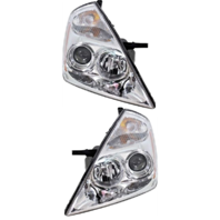Fits 06-12 Kia Sedona Left & Right Headlight Assemblies - Set