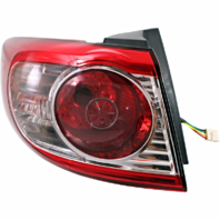 Fits 10-12 Hyundai Santa Fe Left Driver Tail Lamp Assembly Quarter Mounted