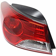 Fits 11-13 Hy Elantra Sedan Left Driver Tail Lamp Assm  Qtr Body Mounted w/out LED USA Built