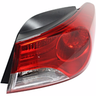 Fits 11-13 Hy Elantra Sedan Right Pass Tail Lamp Assm Quarter Mounted w/out LED