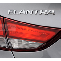 Fits 14-16 Hyundai Elantra Sedan Halogen Left & Right Set Tail Lamp Lid Mounted