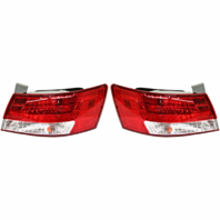 Fits 06-07 Hyundai Sonata Left & Right Set Tail Lamp Assemblies Quarter Mounted