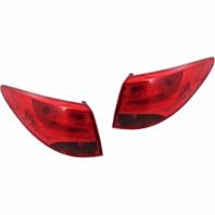 Fits 10-15 Hyundai Tucson Left & Right Set Tail Lamp Assemblies Quarter Mounted
