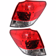 FITS 10-14 SUBARU OUTBACK LEFT & RIGHT SET TAIL LAMP ASSEMBLES QUARTER MOUNTED