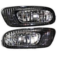Fits 02-03 Lexus ES300; 04 Lexus ES330 Left & Right Fog Lamp Assemblies (pair)