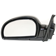 Fits 11/01-06 Hyundai Accent Left Driver Mirror Power Non-Painted With Heat