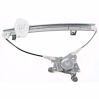 Fits 96-98 Hy Elantra Thru 2/10/98 Power Window Regulator Rear Without Motor Left Driver
