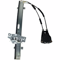 Fits 98-01 Sephia 00-04 Spectra Right Pass Front Door Manual Window Regulator