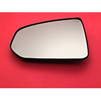 Fits 09-17 Nissan 370Z Left Driver Heated Mirror Glass w/ Rear Holder OE