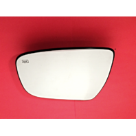 Fits 14-16 Rogue, 15-16 Murano Left Driver Heated Mirror Glass w/ Rear Holder OE
