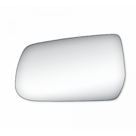Fits 10-16 Chevy Equinox GMC Terrain Left Driver Mirror Glass Lens  w/ Adhesive
