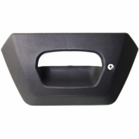 Fits 02-06 Chevy Avalanche Rear Tailgate Bezel Grey Textured w/Keyhole