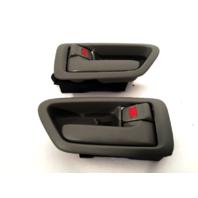 97-01 Camry Left & Right Interior Door Handles w/ Bezel Gray fits Front & Rear