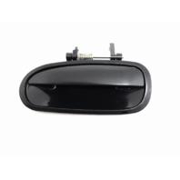 Fits 96-00 Honda Civic Exterior Door Handle Left Driver Side Rear Black Opt PTM