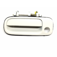 92-96 Camry Left Driver Front Exterior Door Handle Painted Super White 040
