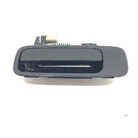 Fits 97-01 Camry Right Passenger Side Rear Exterior Door Handle Smooth Black