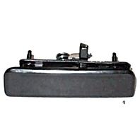 Fits 92-05 Astro Safari Van Black Handle Outer Exterior Rear Back fits w/Double Door