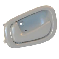 Fits 98-02 Corolla Prism Left Driver Manual Front / Rear Interior Door Handle Grey