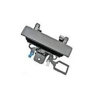 Fits 12-13 Silverado, Sierra 2014- 2500, 3500 Rear Tailgate Handle w/Keyhole Black