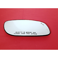 Fits 10-14 Taurus Right Pass Mirror Glass Heated w/ Blind Spot Detect & Holder