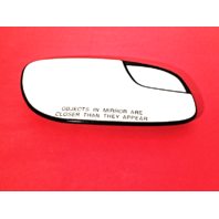 Fits 12-16 Taurus Right Pass Mirror Glass w/ Small Spot, Rear Holder non Heated