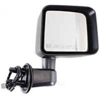 Fits 11-13 Jeep Wrangler Right Pass Power Mirror With Heat / Folding