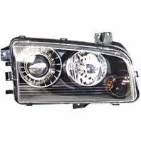 Fits 08-10 Dodge Charger Left Driver HID Headlamp Assembly With Out HID Kit