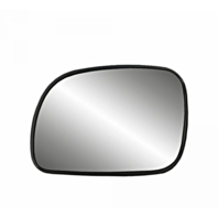 Fits 96-07 Caravan, Town & Country Left Driver Heated Mirror Glass w/Rear Holder