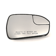 Fits 13-18 Fusion Right Passenger Convex Mirror Glass w/Rear Holder OE