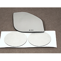 Right Passenger Side Small Convex Spot Mirror Glass Lens for 15-18 Ford F150