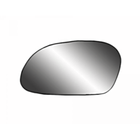 Fits 00-07 Taurus, Sable Left Driver Side Mirror Glass  w/Rear Back Plate